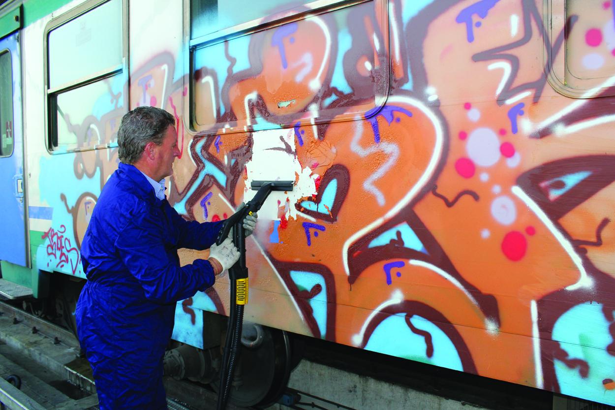 Graffitieentfernung
