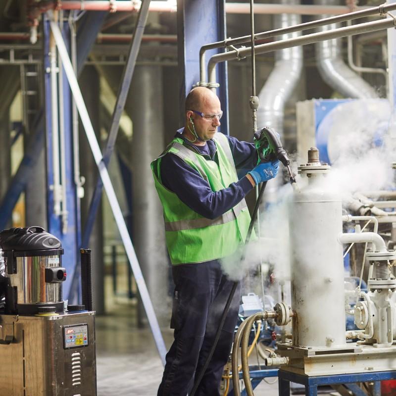 Mechanische Industrie Lebensmittelindustrie Absauganlagen Förderbandreinigung