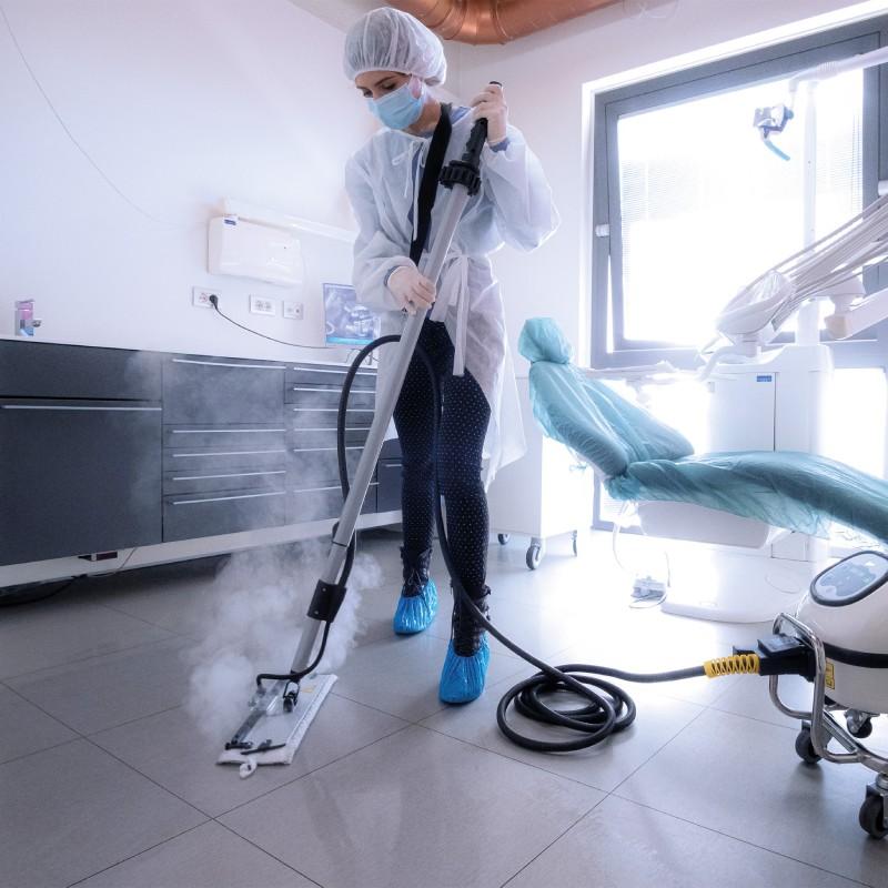 Raumdekontamination Hygiene-Trolley